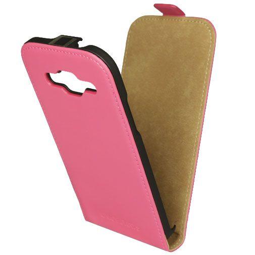 Mobiparts Premium Flip Case Pink Samsung Galaxy Core Prime (VE)