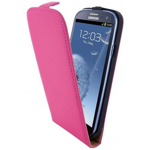 Mobiparts Premium Flip Case Pink Samsung Galaxy S3 (Neo)