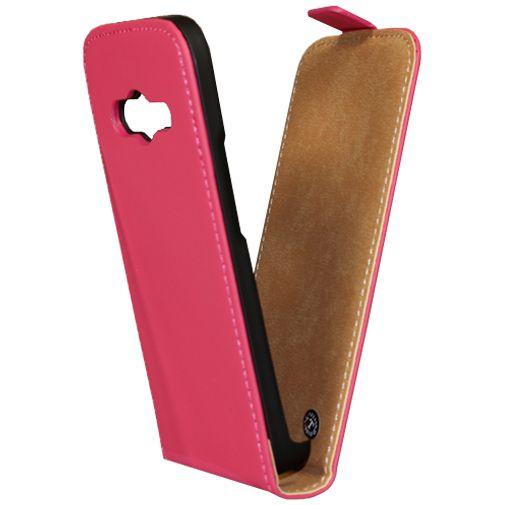 Mobiparts Premium Flip Case Pink Samsung Galaxy Trend 2