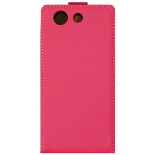 Mobiparts Premium Flip Case Pink Sony Xperia Z3 Compact