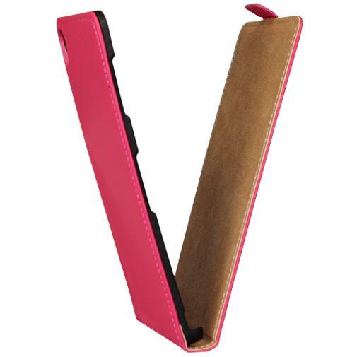 Mobiparts Premium Flip Case Pink Sony Xperia Z3