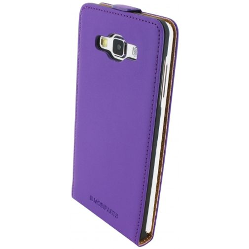 Mobiparts premium flip case purple samsung galaxy a7 belsimpel nl