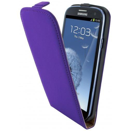 Mobiparts Premium Flip Case Purple Samsung Galaxy S3 (Neo)