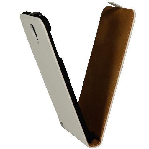 Mobiparts Premium Flip Case Samsung Galaxy Note 3 Neo White