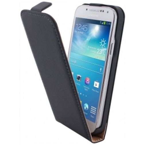 Productafbeelding van de Mobiparts Premium Flip Case Samsung Galaxy S4 Mini (VE) Black