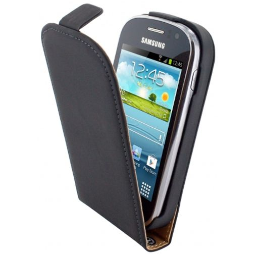 Mobiparts Premium Flip Case Samsung Galaxy Fame Black
