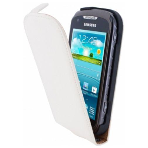 Mobiparts Premium Flip Case Samsung Xcover 2 White