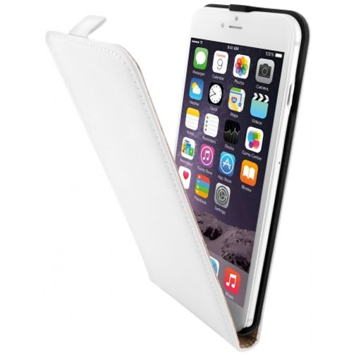 Mobiparts Premium Flip Case White Apple iPhone 6 Plus/6S Plus