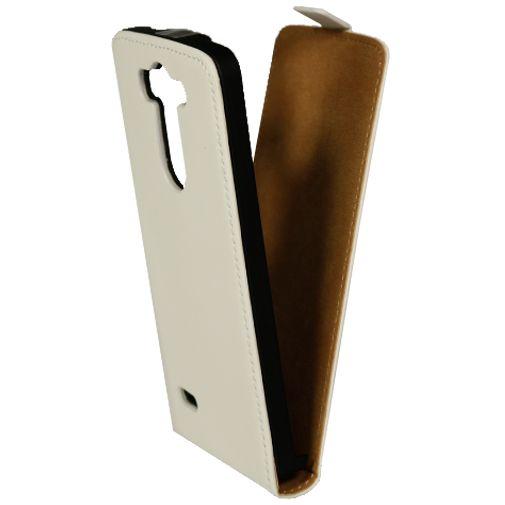 Mobiparts Premium Flip Case White LG G3 S