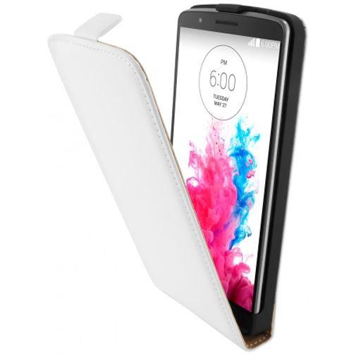 Mobiparts Premium Flip Case White LG G3