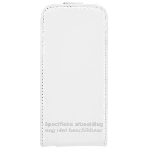 Mobiparts Premium Flip Case White LG Spirit