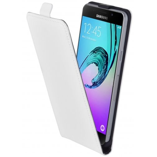 Mobiparts Premium Flip Case White Samsung Galaxy A5 (2016)