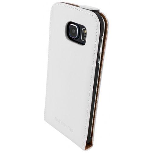 Mobiparts Premium Flip Case White Samsung Galaxy S6
