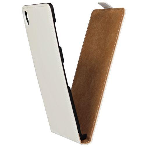 Mobiparts Premium Flip Case White Sony Xperia Z3