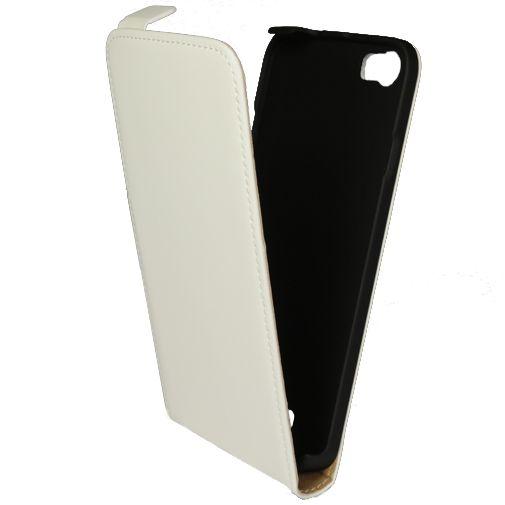 Mobiparts Premium Flip Case White Wiko Lenny