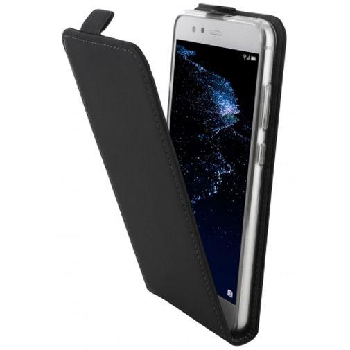 Mobiparts Premium Flip TPU Case Black Huawei P10 Lite