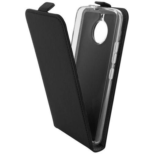 Mobiparts Premium Flip TPU Case Black Motorola Moto E4