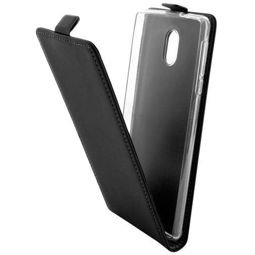 Mobiparts Premium Flip TPU Case Black Nokia 3