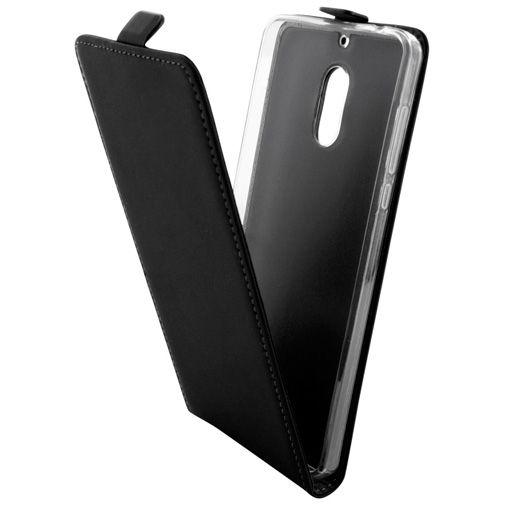 Mobiparts Premium Flip TPU Case Black Nokia 6