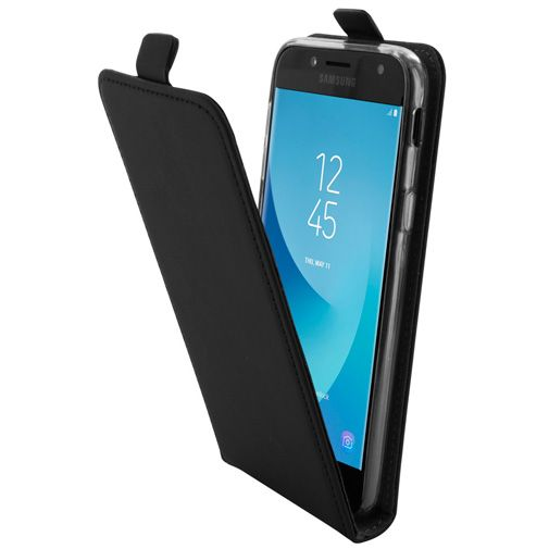 Mobiparts Premium Flip TPU Case Black Samsung Galaxy J5 (2017)