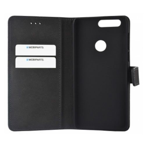 Mobiparts Premium Wallet Case Black Honor 8