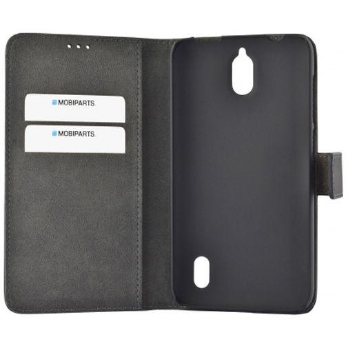 Mobiparts Premium Wallet Case Black Huawei Y625