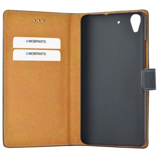 Mobiparts Premium Wallet Case Black Huawei Y6