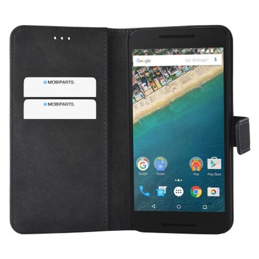 Mobiparts Premium Wallet Case Black LG Nexus 5X