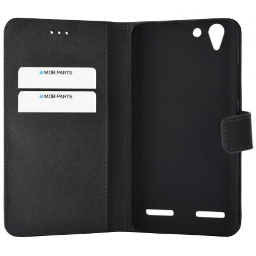 Mobiparts Premium Wallet Case Black Lenovo K5