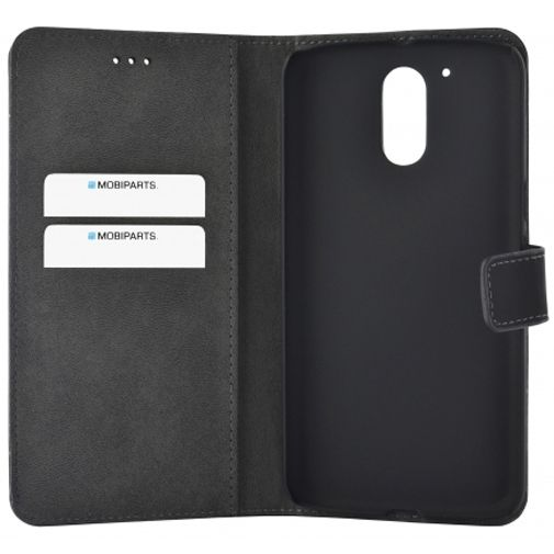 Mobiparts Premium Wallet Case Black Motorola Moto G4/G4 Plus