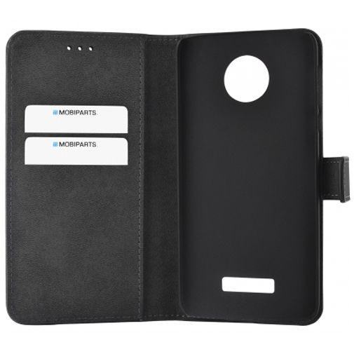 Mobiparts Premium Wallet Case Black Motorola Moto Z