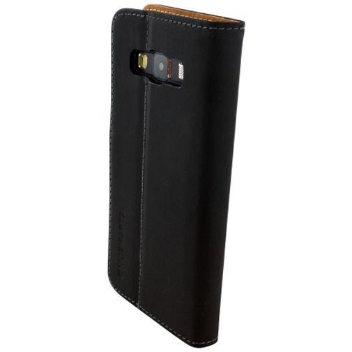 Mobiparts Premium Wallet Case Black Samsung Galaxy A3