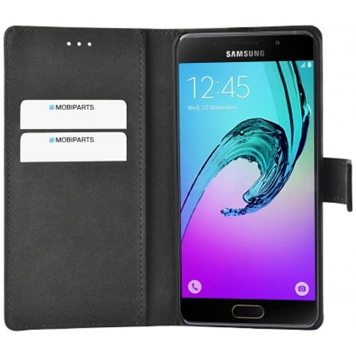 Mobiparts Premium Wallet Case Black Samsung Galaxy A5 (2016)