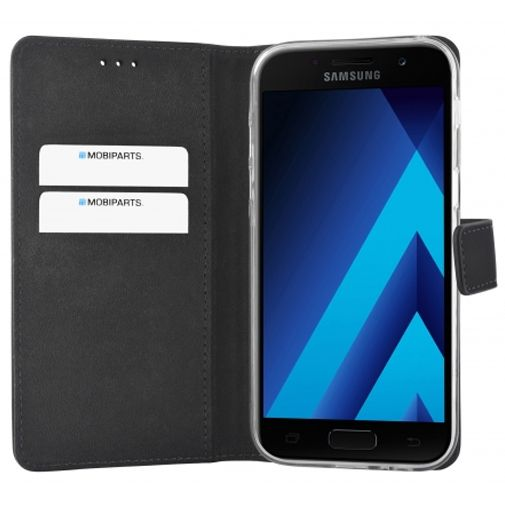 Mobiparts Premium Wallet Case Black Samsung Galaxy A5 (2017)