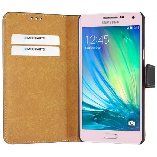 Mobiparts Premium Wallet Case Black Samsung Galaxy A5
