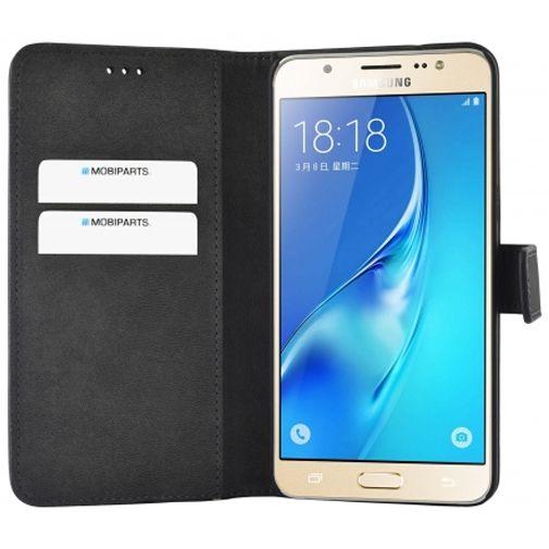 Mobiparts Premium Wallet Case Black Samsung Galaxy J5 (2016)