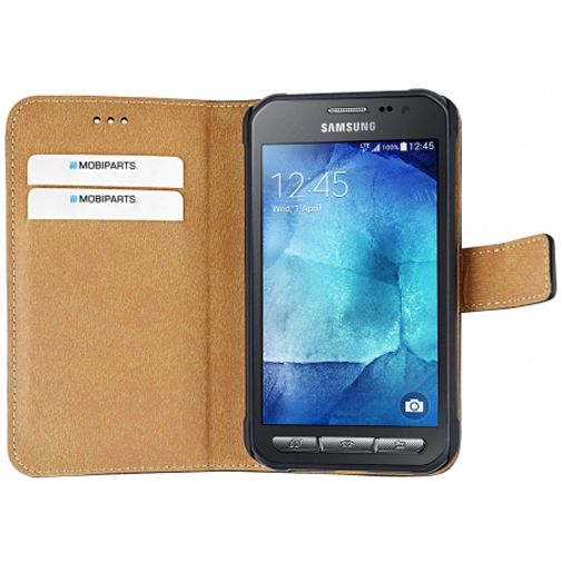 Mobiparts Premium Wallet Case Black Samsung Galaxy Xcover 3 (VE)