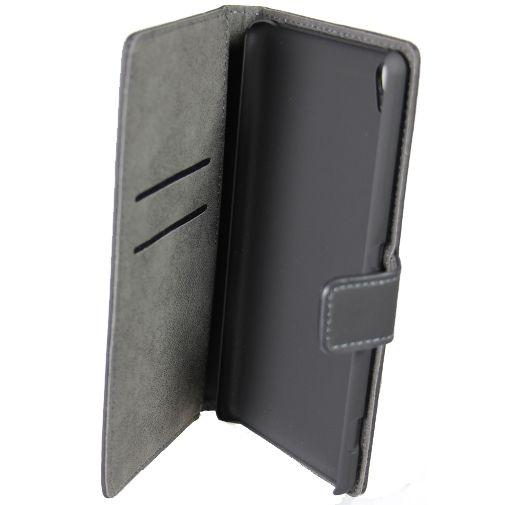 Mobiparts Premium Wallet Case Black Sony Xperia XA