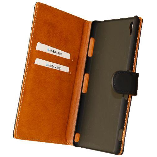Mobiparts Premium Wallet Case Black Sony Xperia Z3