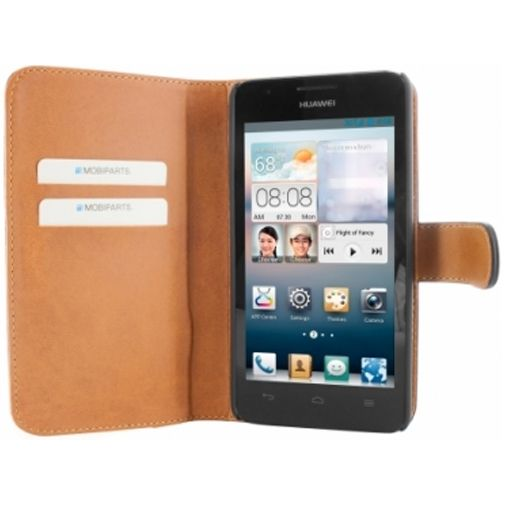 Mobiparts Premium Wallet Case Huawei Ascend G510 Black