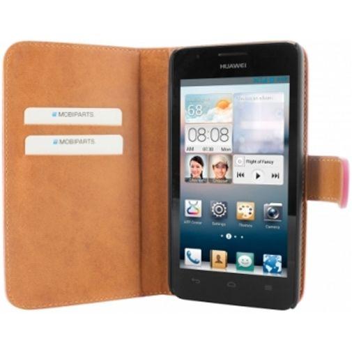 Mobiparts Premium Wallet Case Huawei Ascend G510 Pink