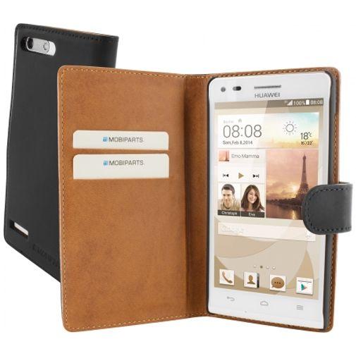 Mobiparts Premium Wallet Case Huawei Ascend G6 Black