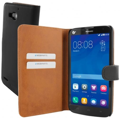Mobiparts Premium Wallet Case Huawei Ascend G750 Black