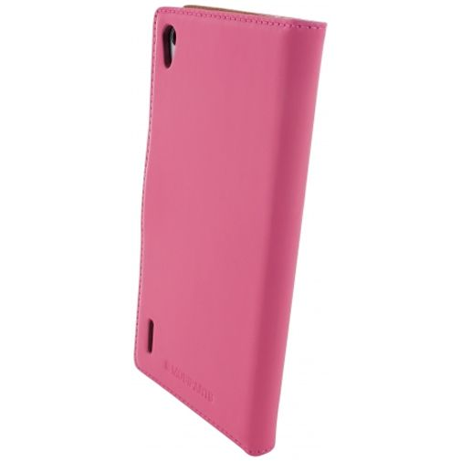 Mobiparts Premium Wallet Case Huawei Ascend P7 Pink