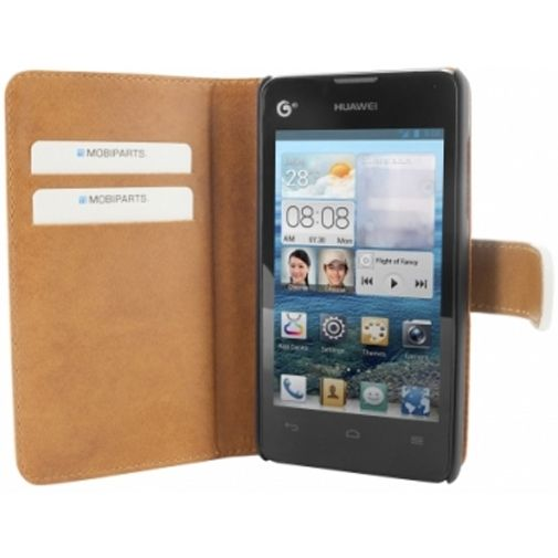 Mobiparts Premium Wallet Case Huawei Ascend Y300 White