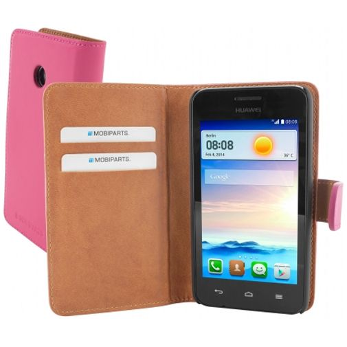 Mobiparts Premium Wallet Case Huawei Ascend Y330 Pink