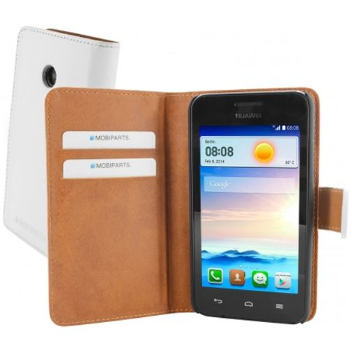 Mobiparts Premium Wallet Case Huawei Ascend Y330 White