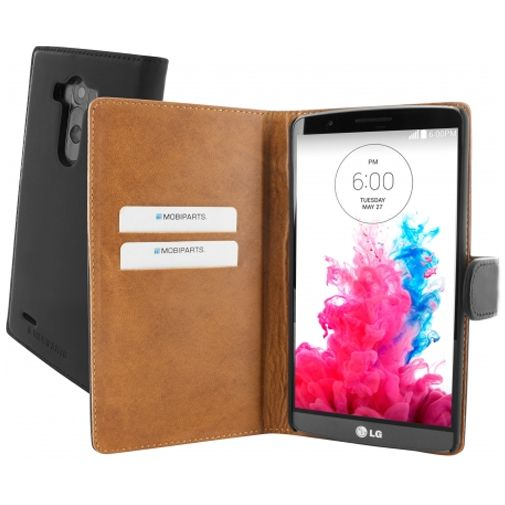 Mobiparts Premium Wallet Case LG G3 Black