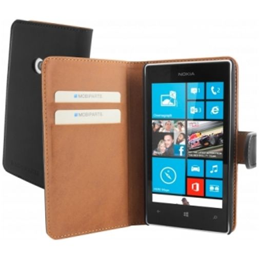 Mobiparts Premium Wallet Case Nokia Lumia 520 / 525 Black