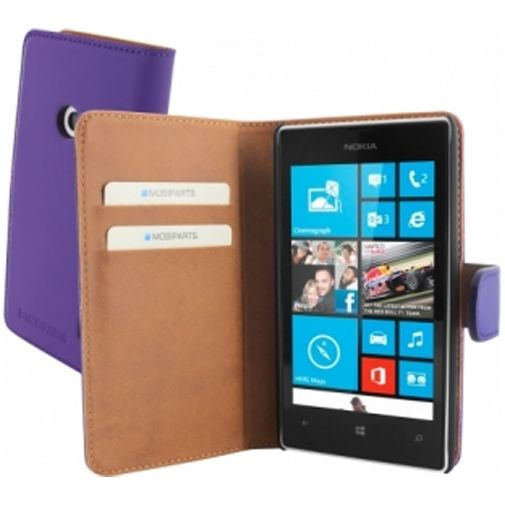 Mobiparts Premium Wallet Case Nokia Lumia 520 / 525 Purple